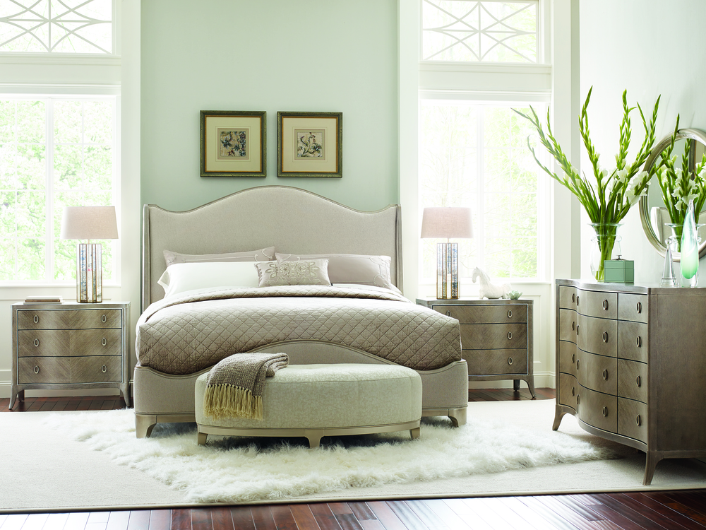 Caracole - Avondale Upholstered Bed