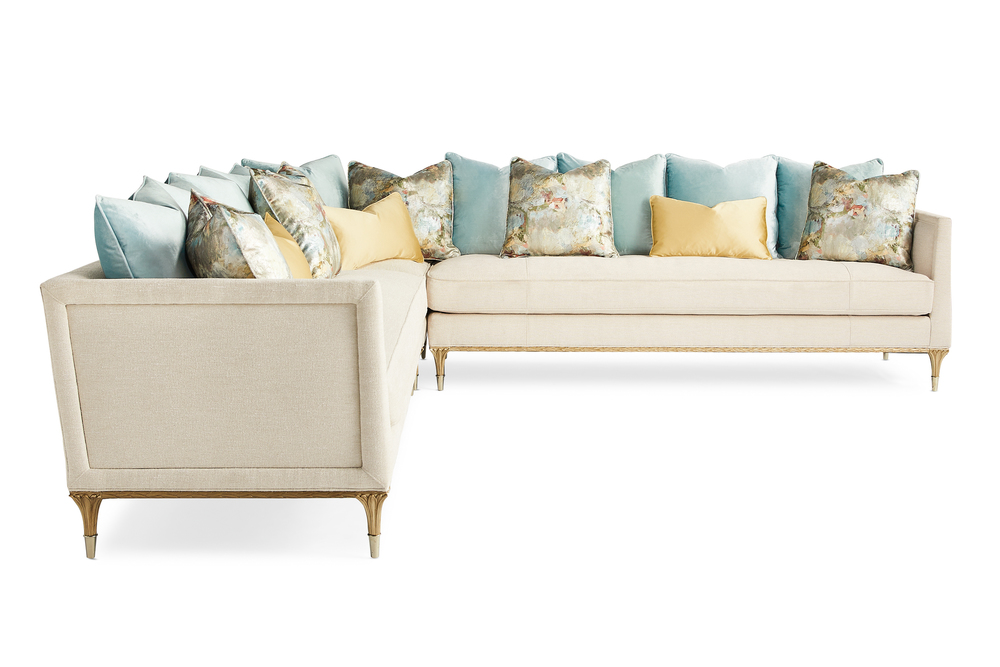 Caracole - Fontainebleau Three Piece Sectional