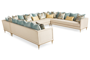 Thumbnail of Caracole - Fontainebleau Five Piece Sectional