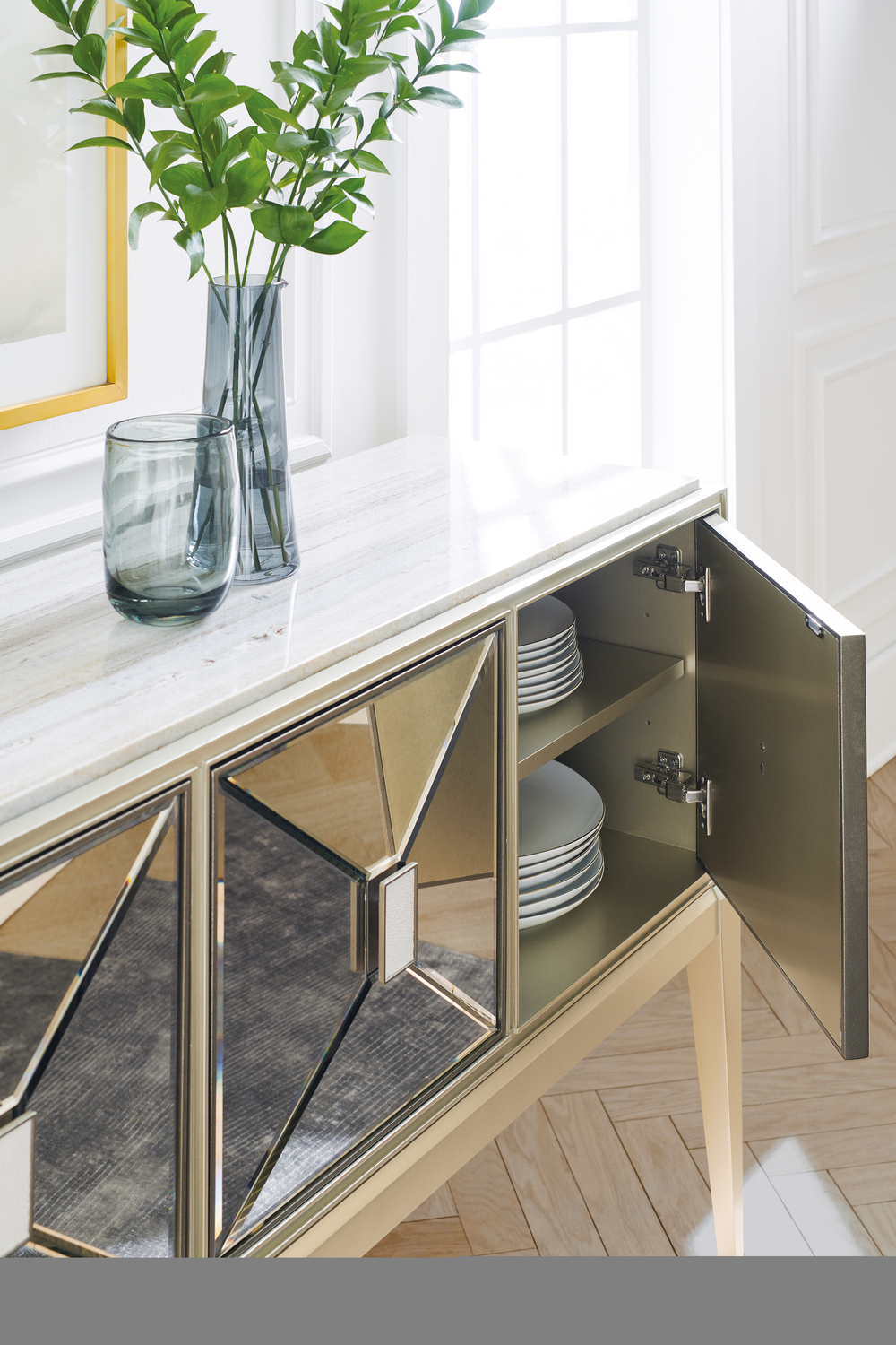 Caracole - Sparkling Personality Sideboard