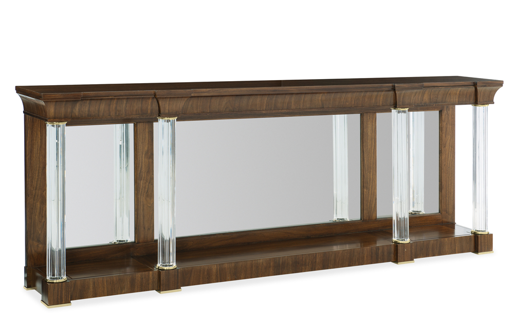 Caracole - A Clear Perspective Console