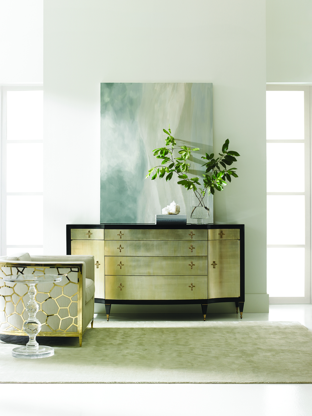 Caracole - Opposites Attract Storage Cabinet