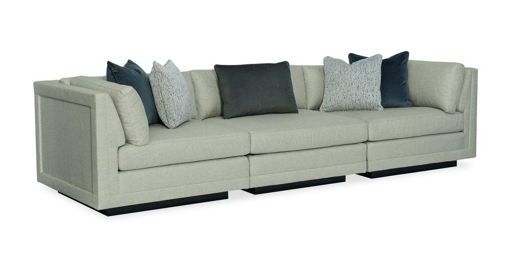 Caracole - Fusion 3 pc Sectional Sofa