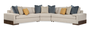 Thumbnail of Caracole - Drift 3 pc Sectional