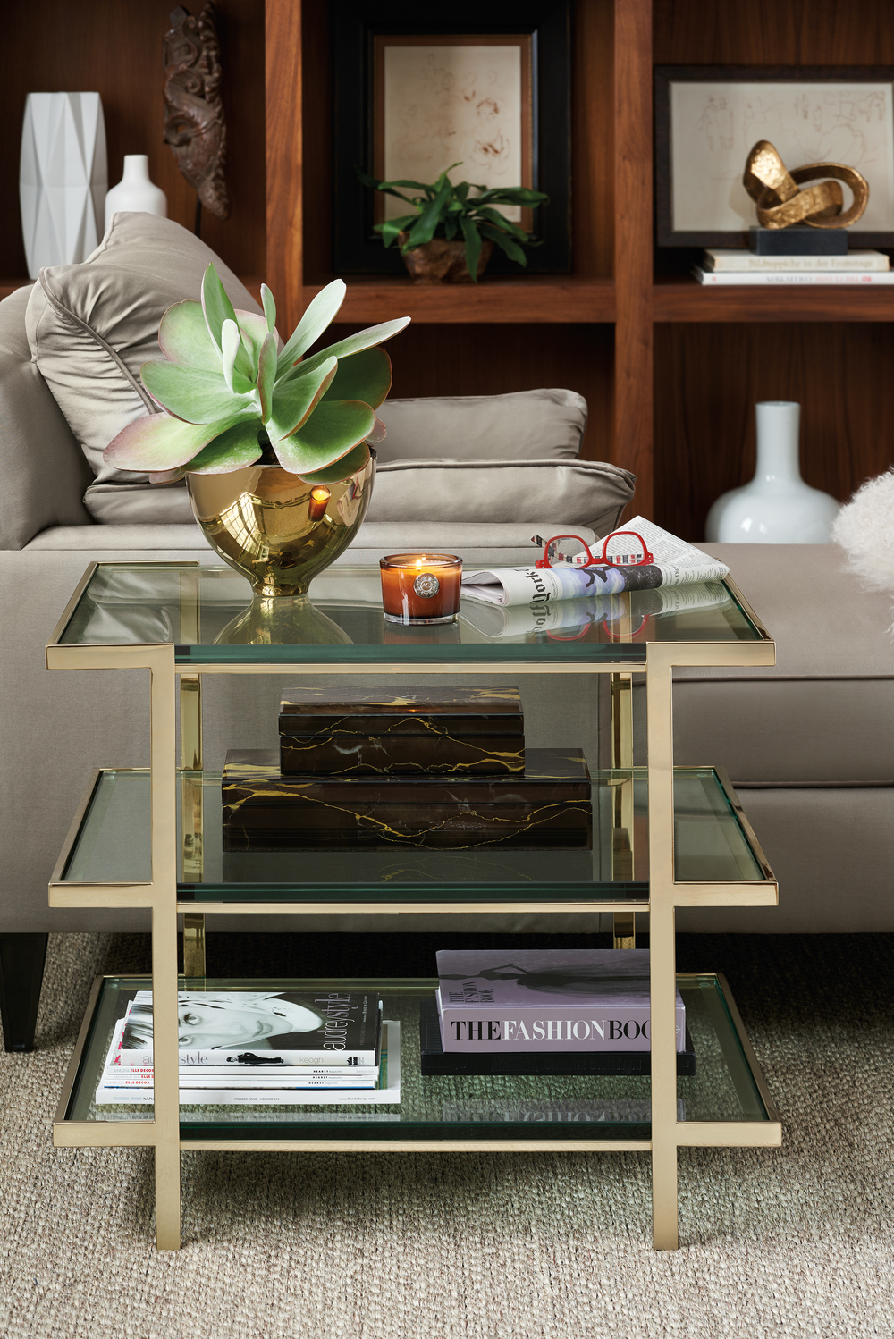 Caracole - The Top to Bottom End Table