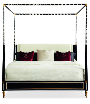 Thumbnail of Caracole - The Couturier Canopy Bed, King