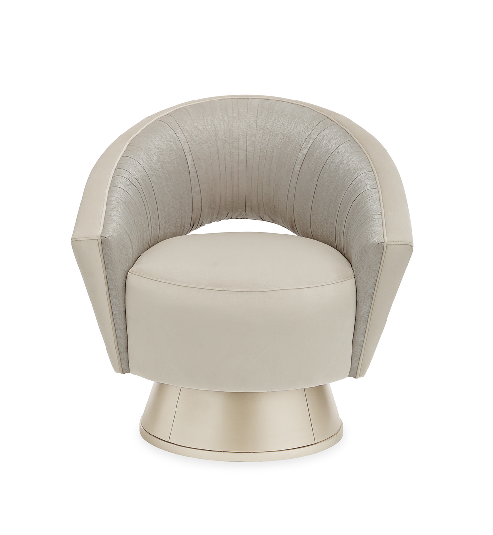 Caracole - A Com-Pleat Turn Around Chair