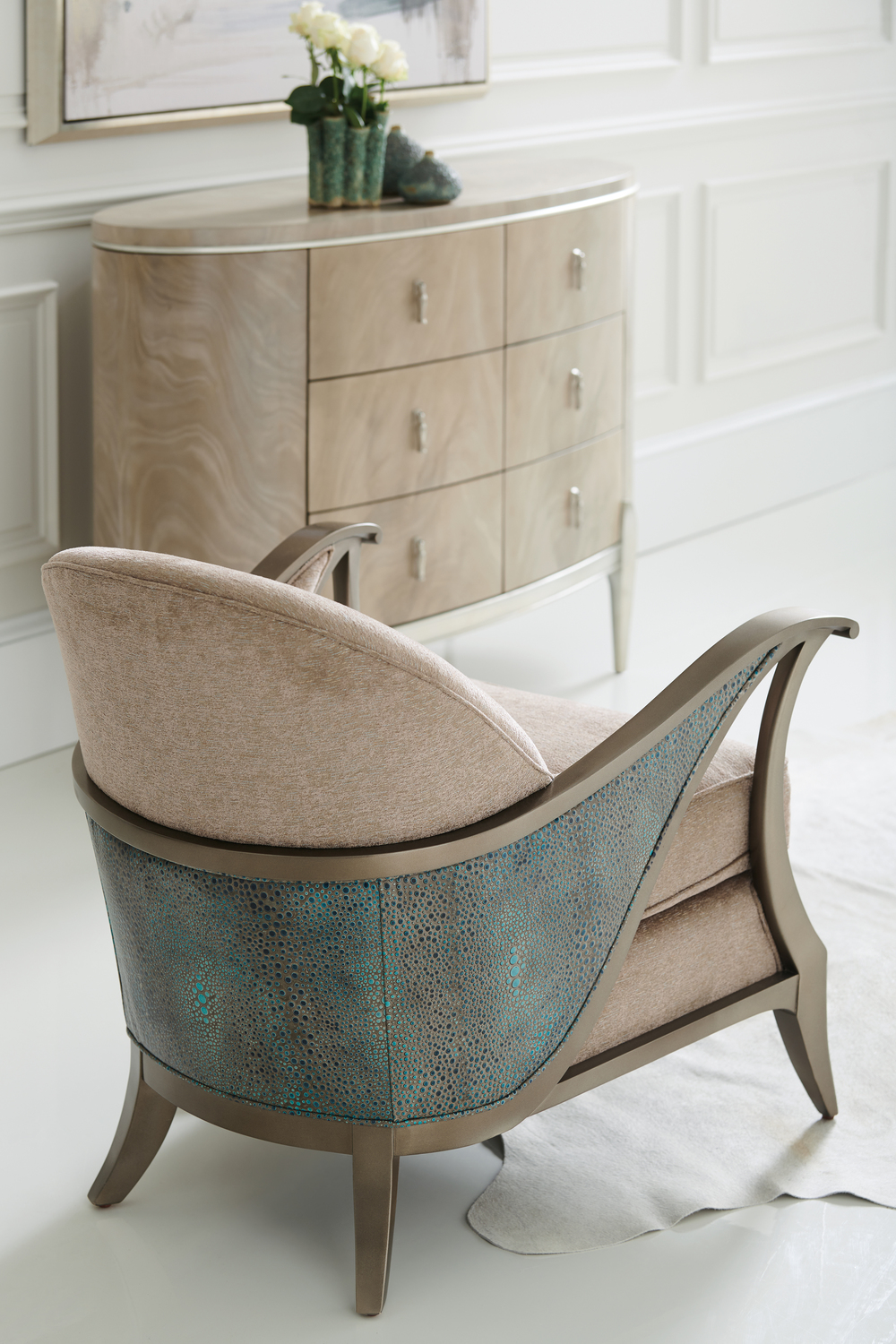 Caracole - Curtsy Chair