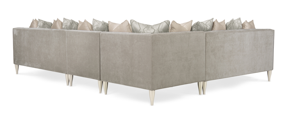 Caracole - Fret Knot Corner Sectional
