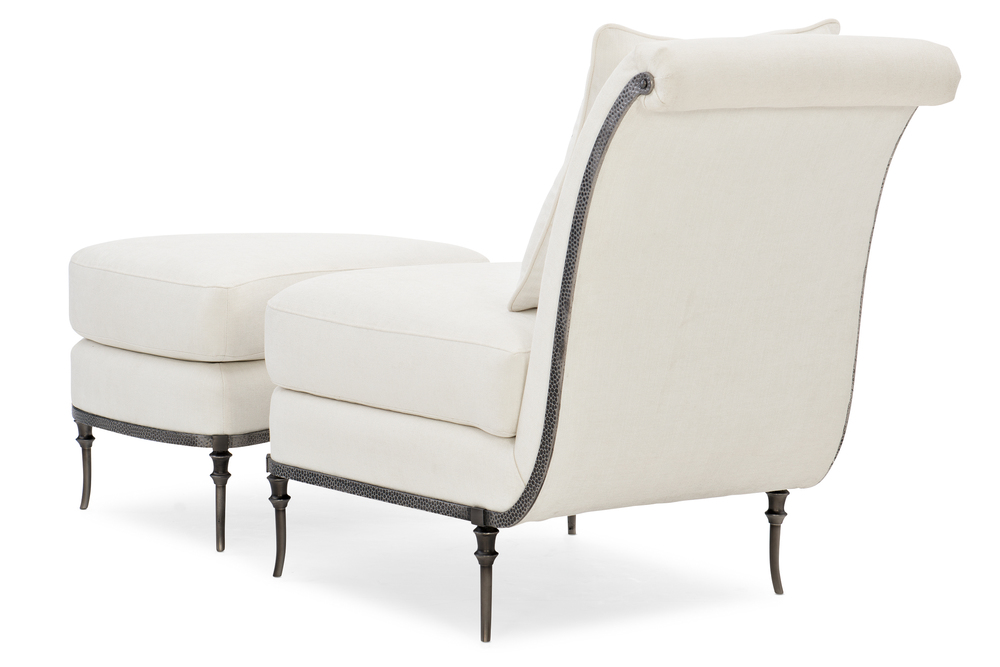Caracole - On Point Chair and Ottoman