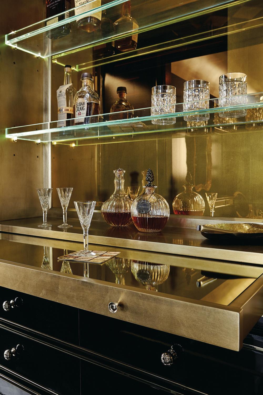 Caracole - The Aficionado Entertainment/Bar Cabinet