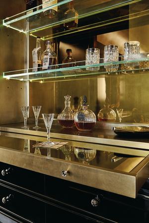 Thumbnail of Caracole - The Aficionado Entertainment/Bar Cabinet
