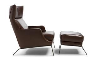 Thumbnail of Natuzzi Italia - 3125 High Back Arm Chair
