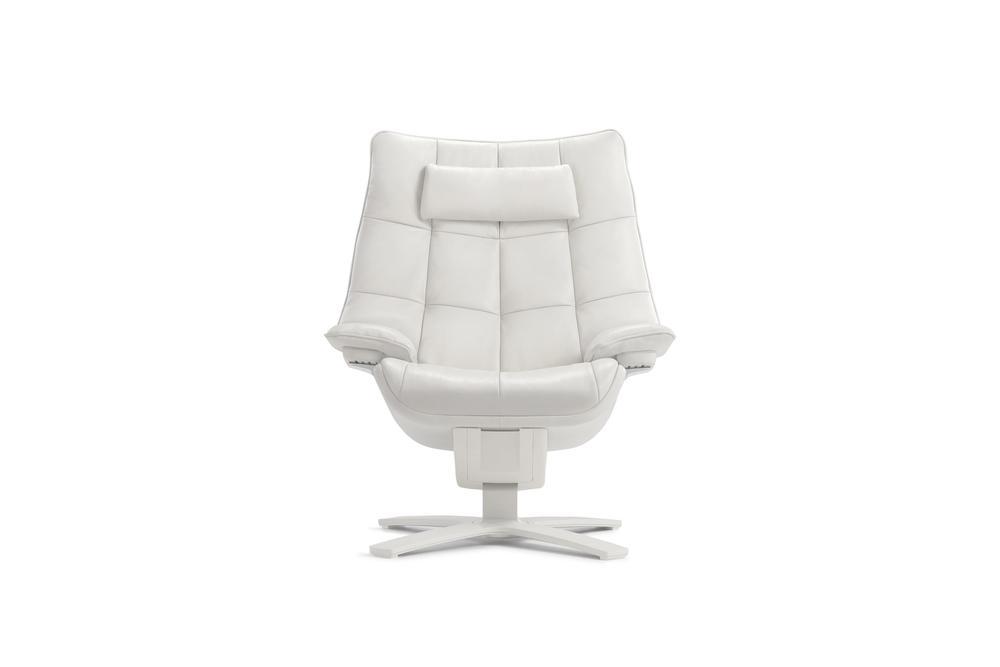 Natuzzi Italia - Quilted Queen Arm Chair & Headrest