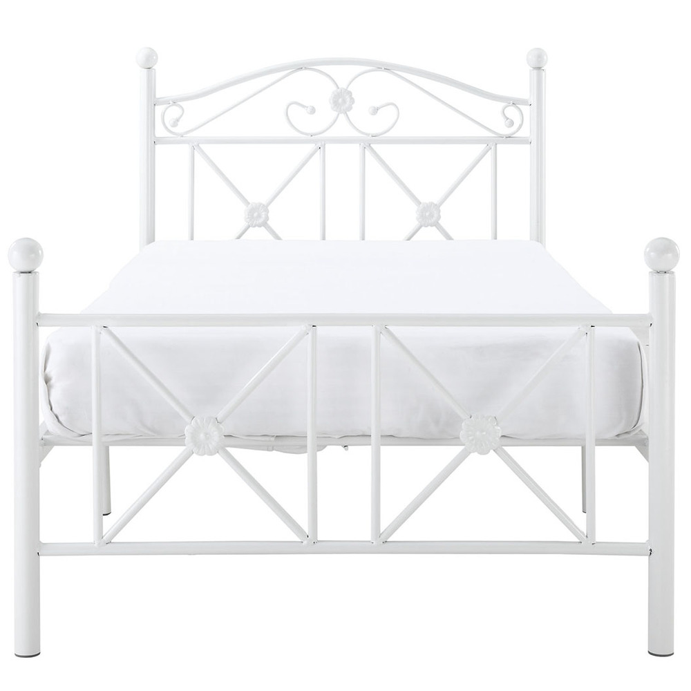 Modway Furniture - Cottage Twin Bed, White