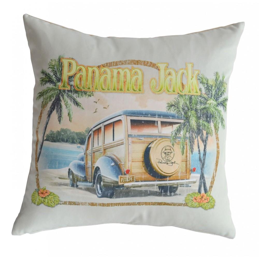 Pelican Reef - Throw Pillow