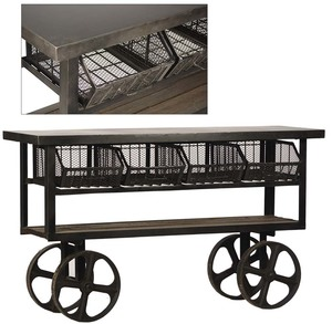 Thumbnail of Dovetail Furniture - Industrial Trolley