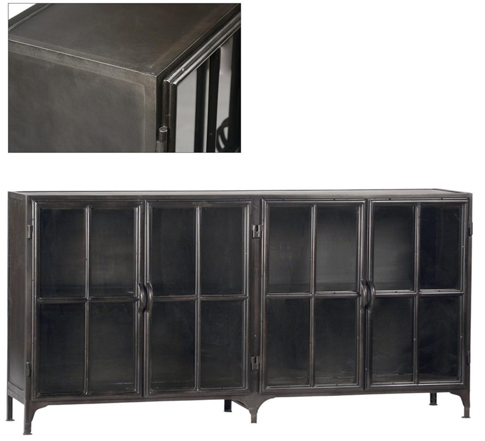 Dovetail Furniture - York Metal Sideboard