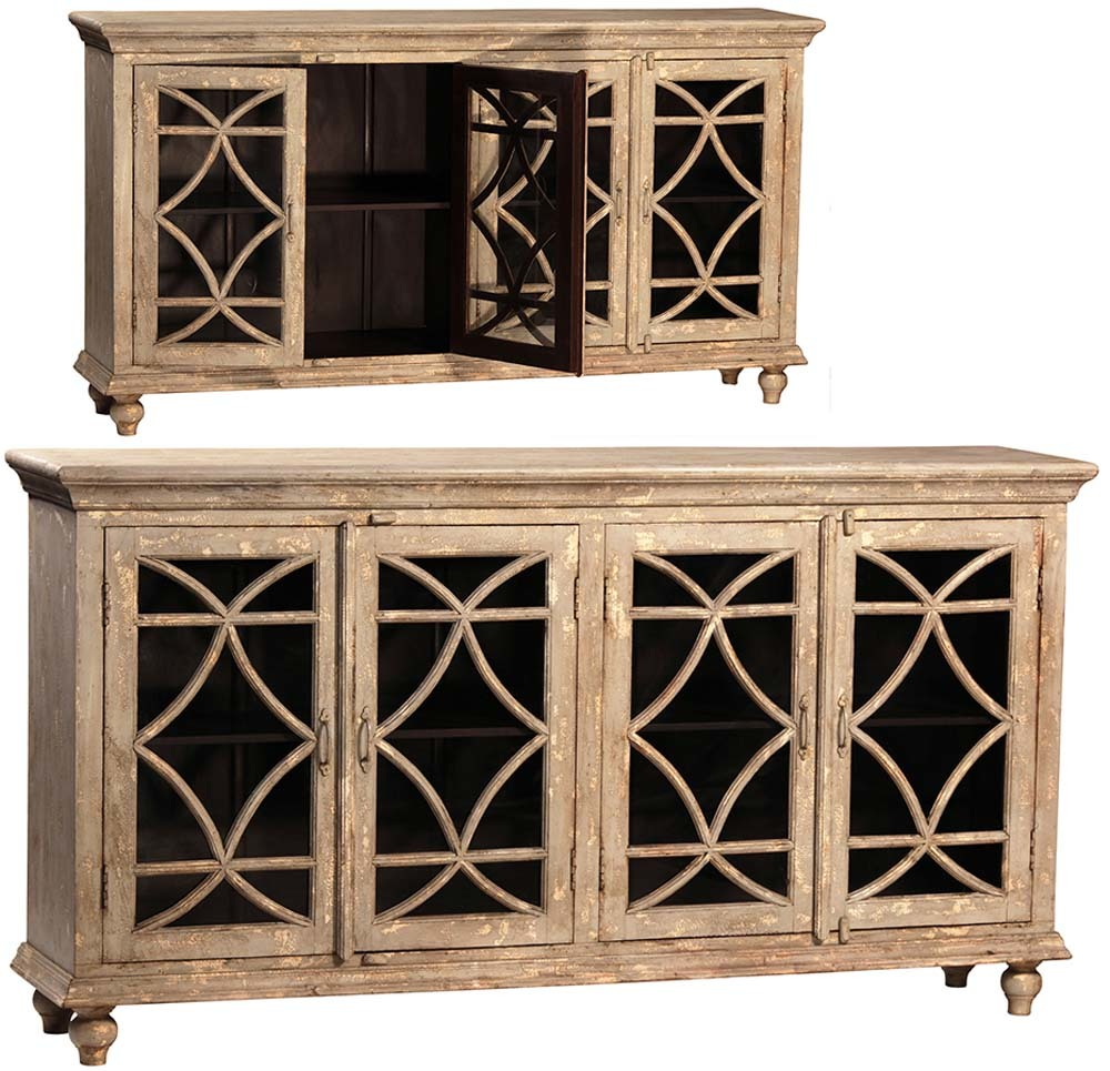 Dovetail Furniture - Bacca Four Door Sideboard
