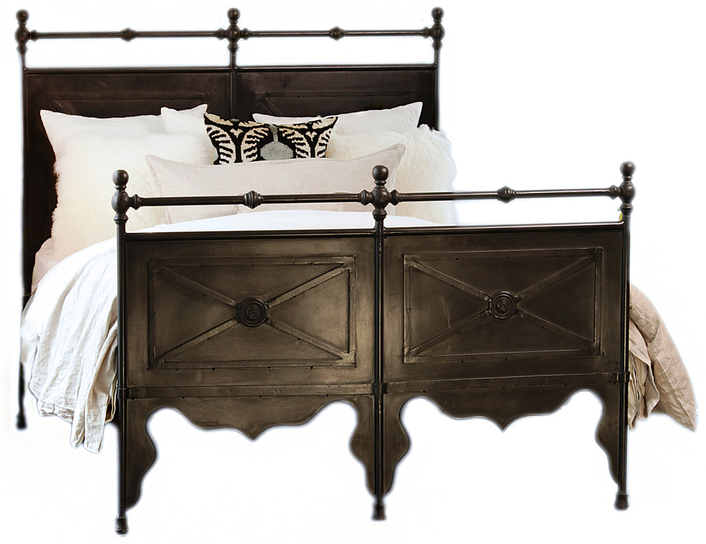 Dovetail Furniture - Channing Iron Bed