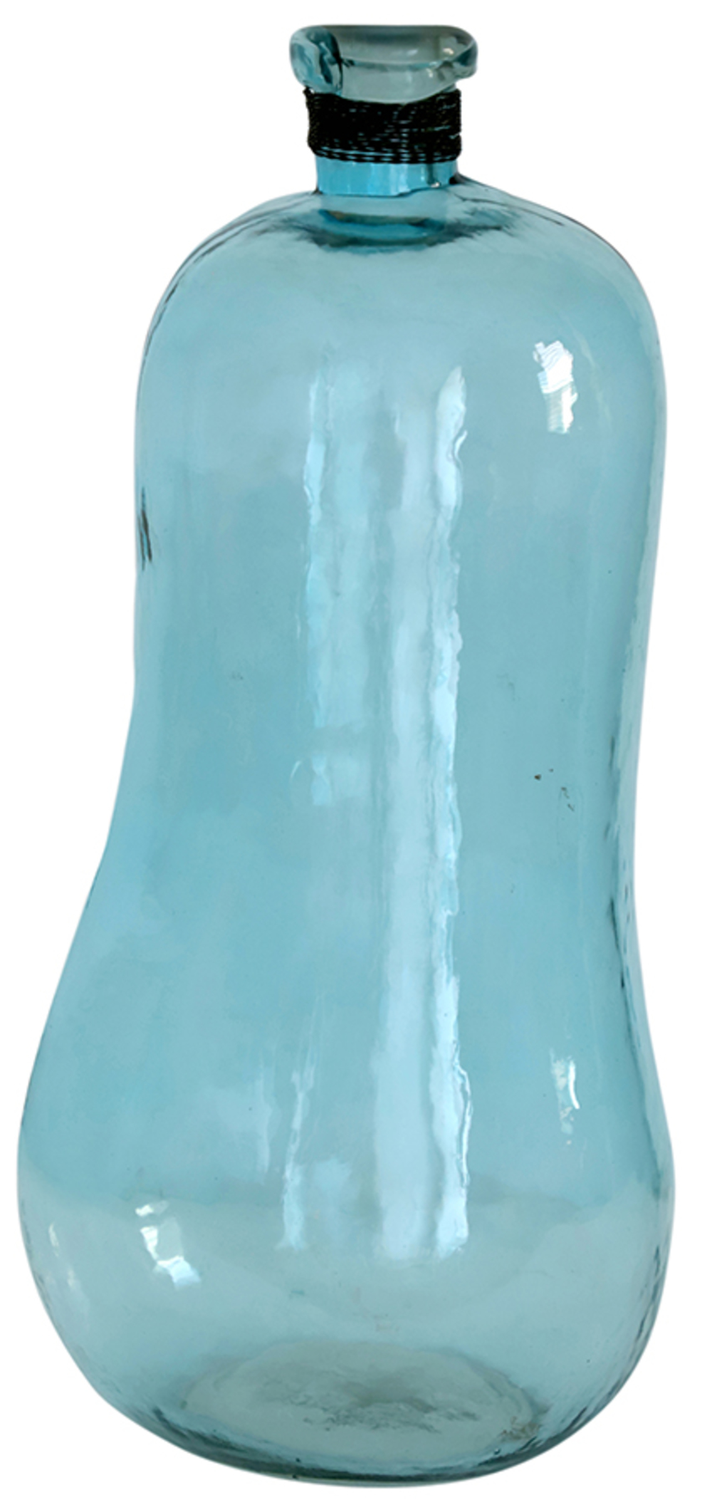 Dovetail Furniture - Glass Decorative Bottle/Vase