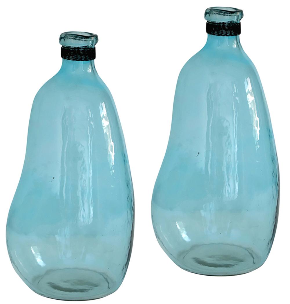 Dovetail Furniture - Glass Bottle/Vase, Set/2