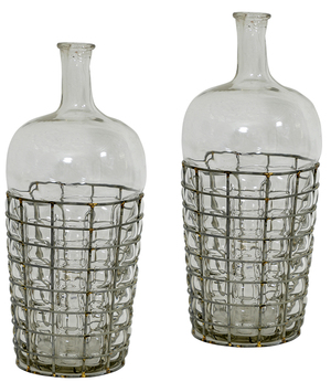 Thumbnail of Dovetail Furniture - Glass Bottle/Vase, Set/2