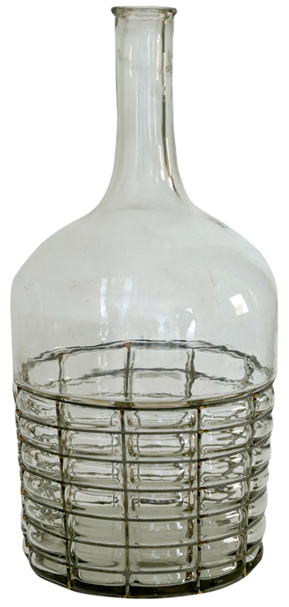 Dovetail Furniture - Glass Decorative Bottle/Vase