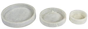Thumbnail of Dovetail Furniture - White Marble Bowl, Set/3