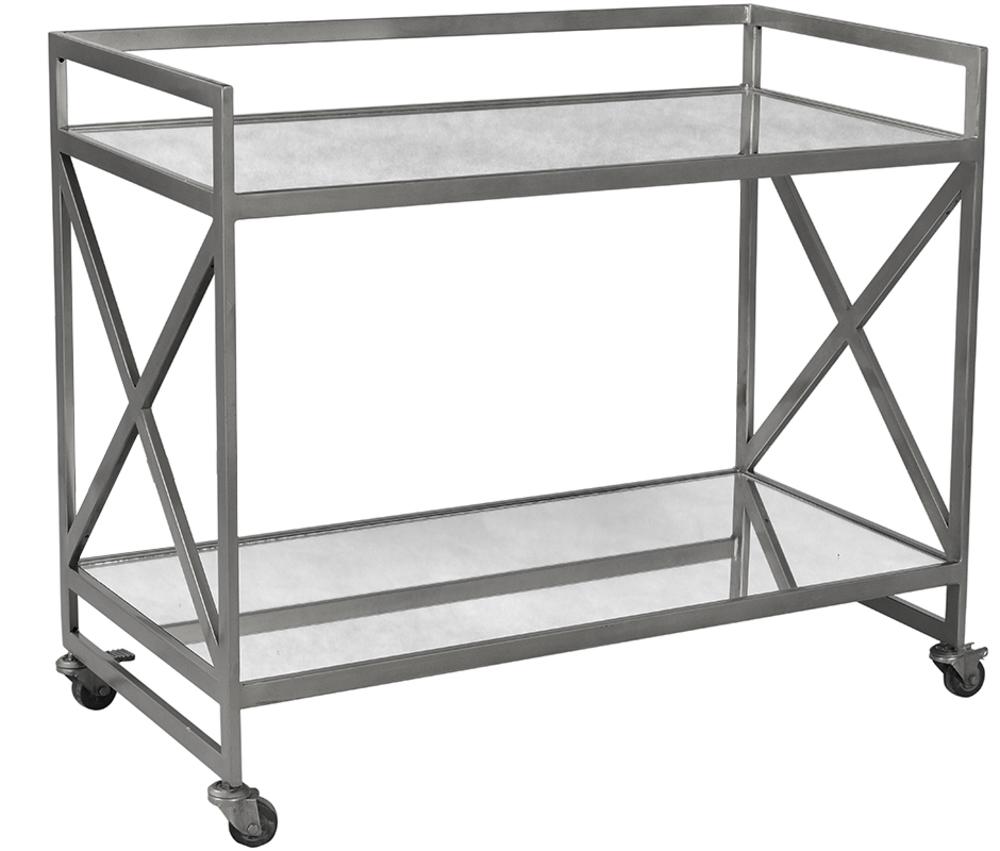 Dovetail Furniture - Combs Bar Cart