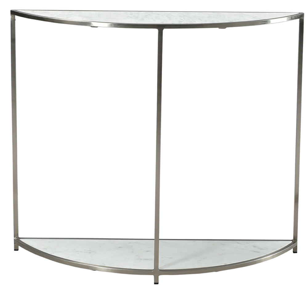 Dovetail Furniture - Cormac Console, Nickel