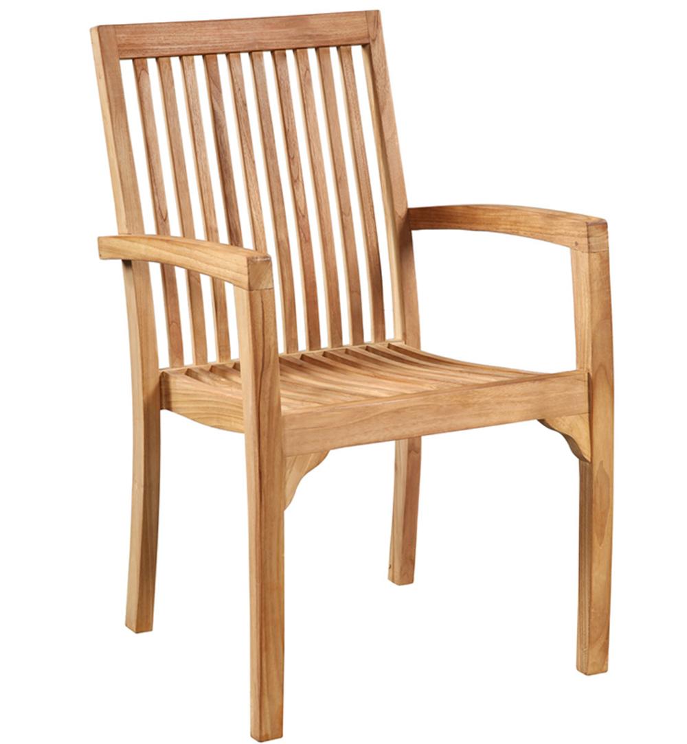Dovetail Furniture - Teak Arm Chair