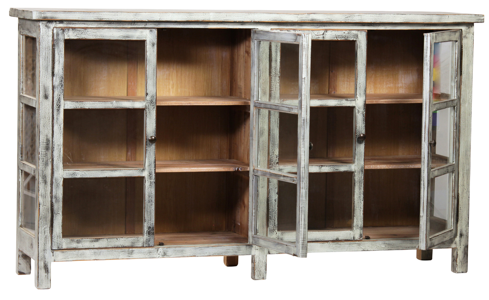 Dovetail Furniture - Shannon Glass Sideboard