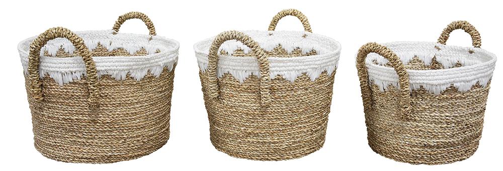 Dovetail Furniture - Basket, Set/3