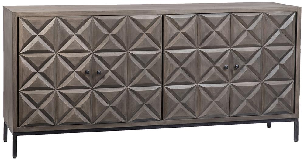 Dovetail Furniture - Gardner Sideboard, Grey