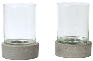 Thumbnail of Dovetail Furniture - Candle Holder with Glass, Set/2
