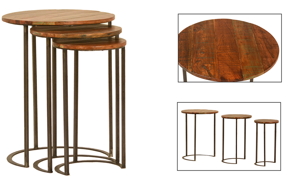 Dovetail Furniture - Joyce Nest of Tables