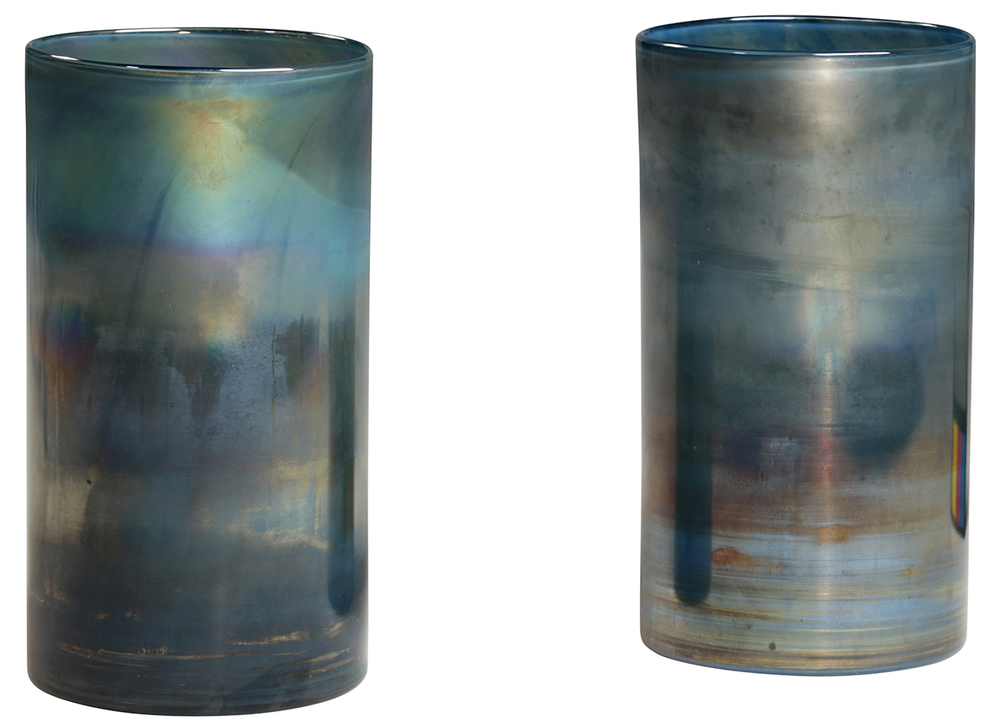 Dovetail Furniture - Glass Cylinder, Set/2