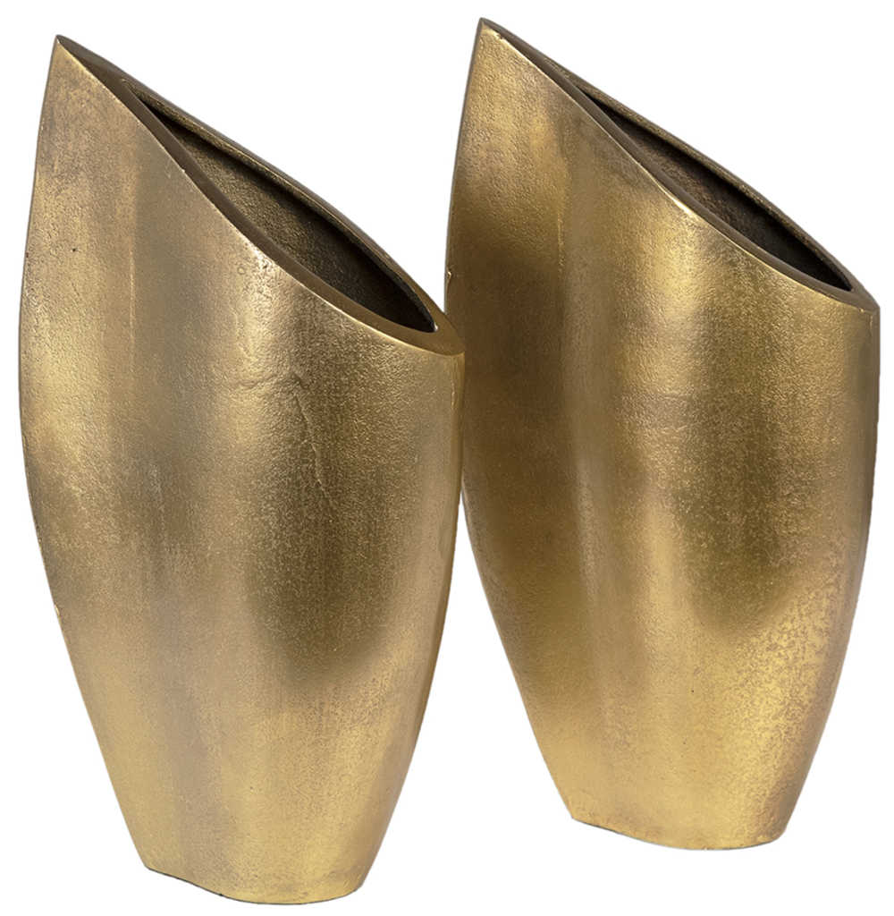 Dovetail Furniture - Vase, Set/2, Brass