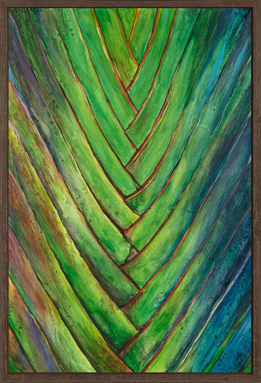 Dovetail Furniture - Tropical Crop I, Framed