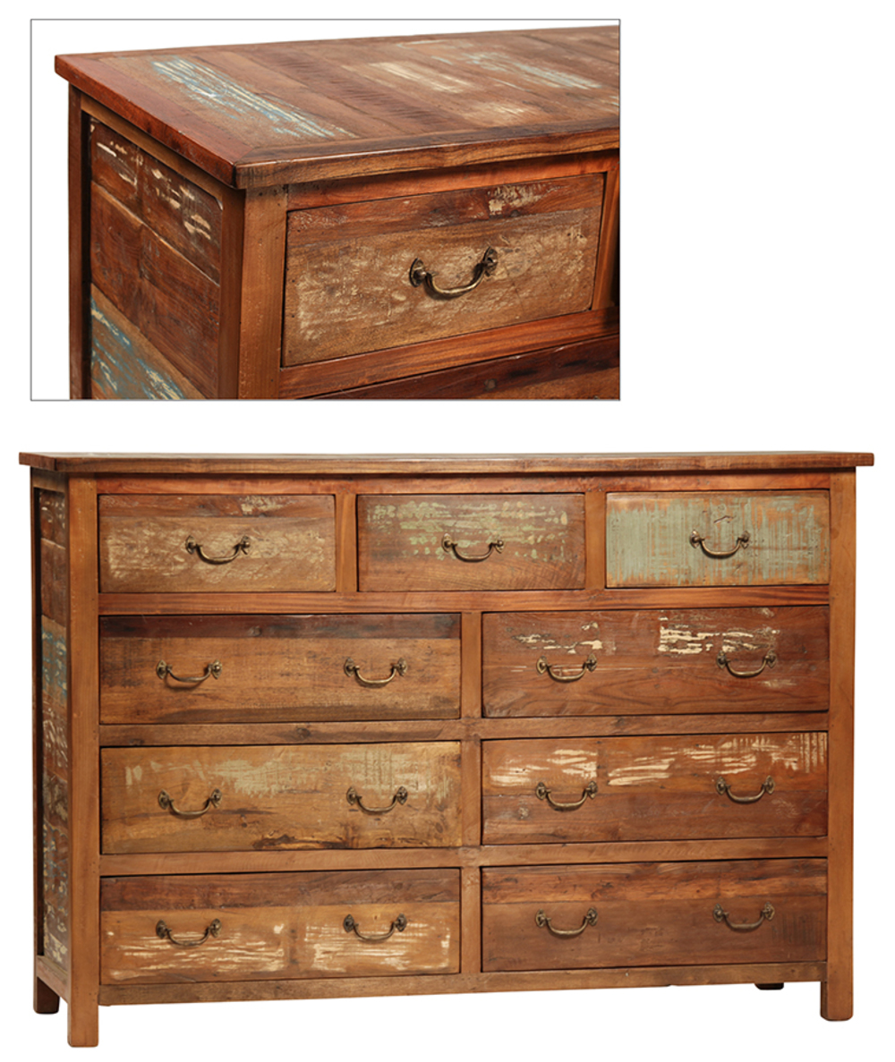 Dovetail Furniture - Nantucket Nine Drawer Dresser