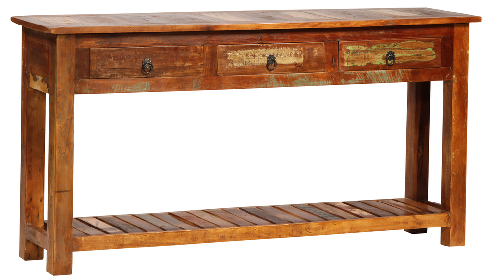 Dovetail Furniture - Nantucket Wood Console