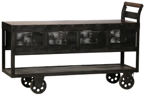 Thumbnail of Dovetail Furniture - Hayes Trolley Console Table