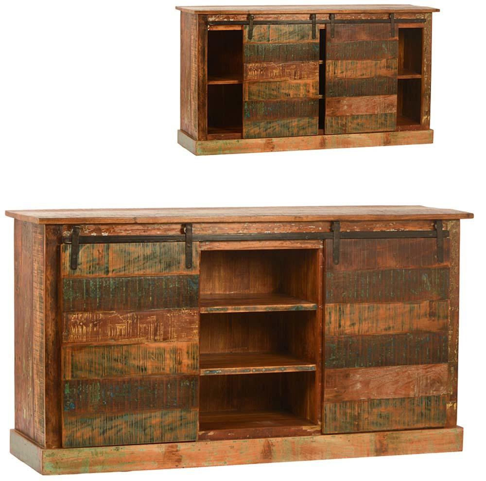 Dovetail Furniture - Nantucket Sideboard with Sliding Door