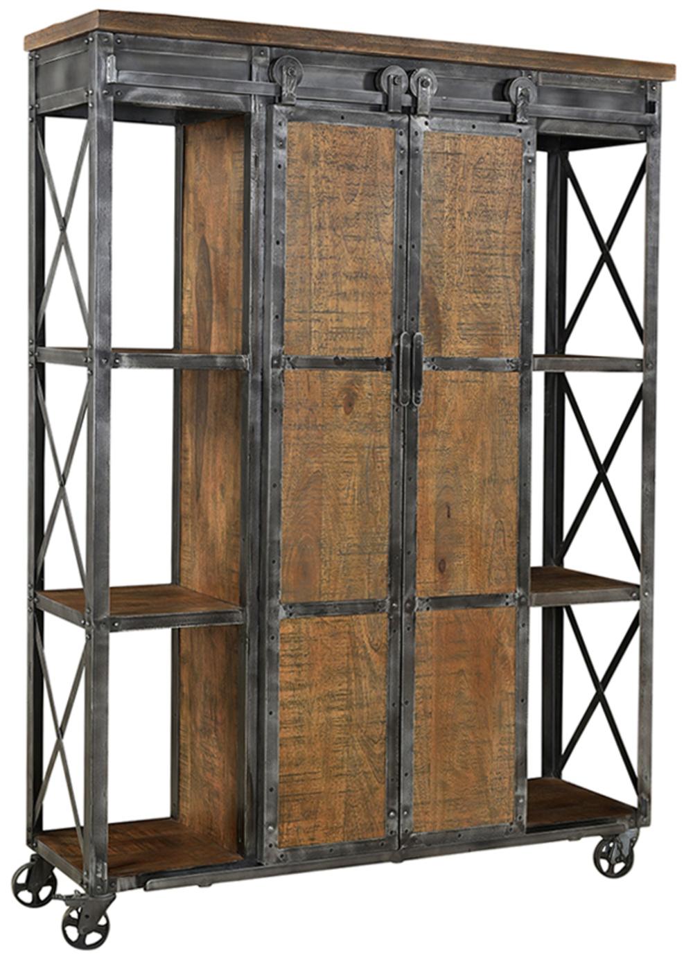 Dovetail Furniture - Delano Shelving Cabinet