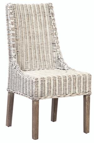 Thumbnail of Dovetail Furniture - Ezio Dining Chair, White Wash