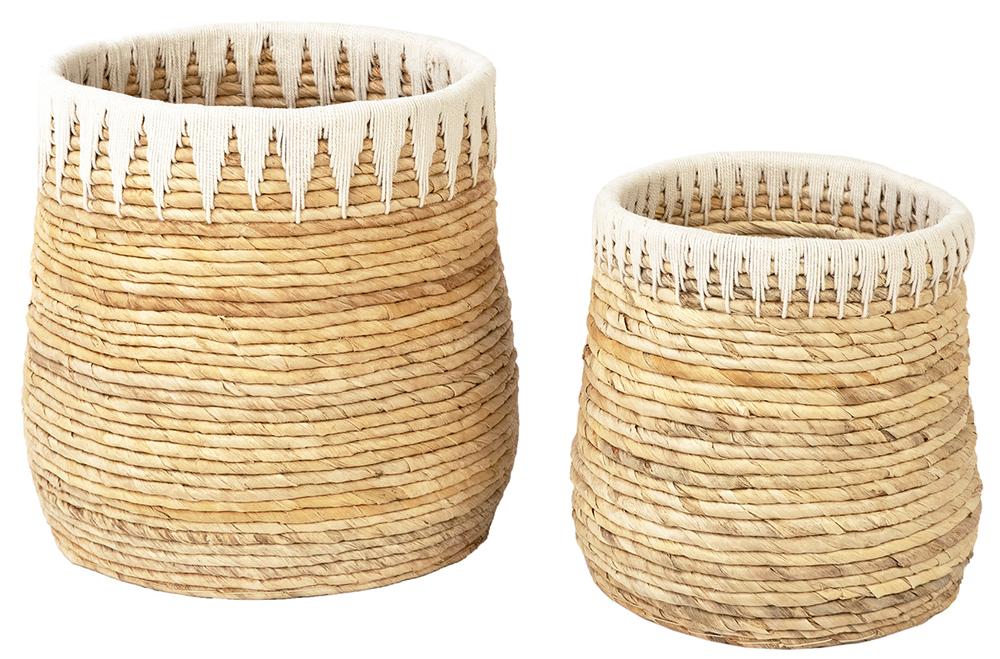 Dovetail Furniture - Round Basket, Set/2
