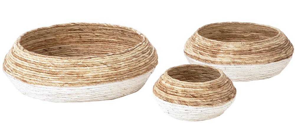 Dovetail Furniture - Small Basket, Set/3