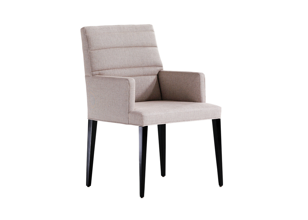 Jessica Charles - Sabrina Arm Quilted Dining Chair