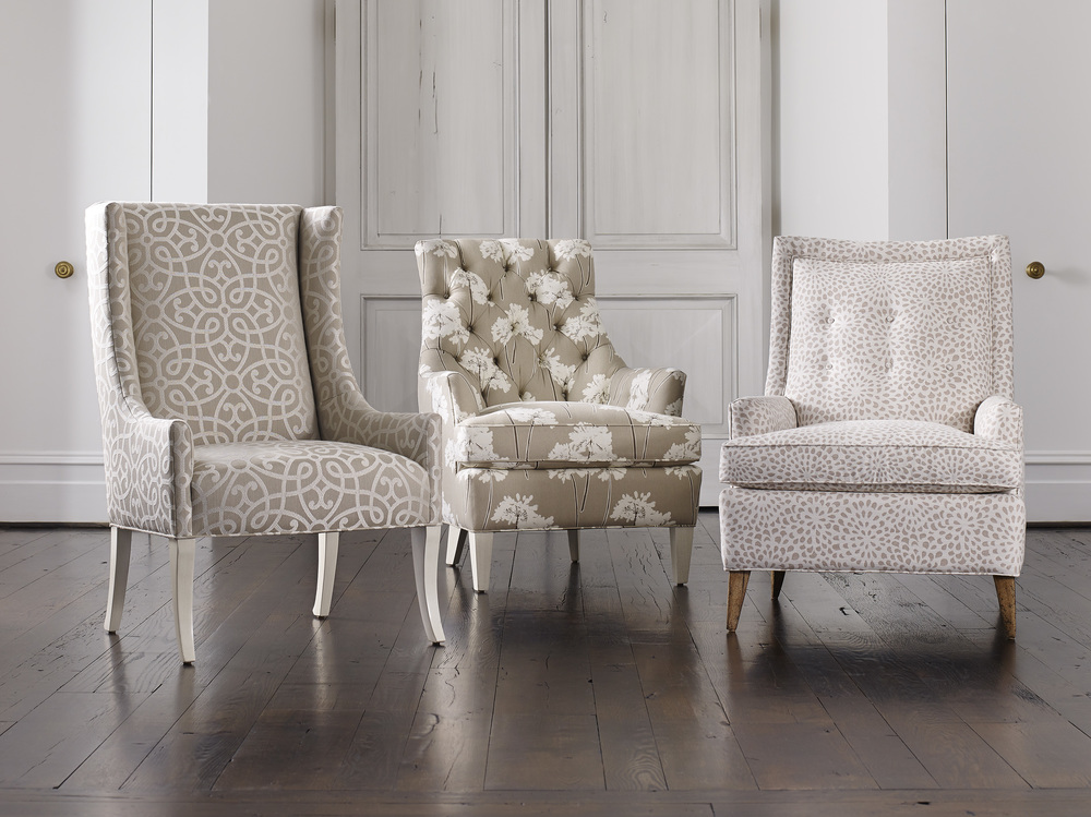 Jessica Charles - Hollan's Tufted Chair